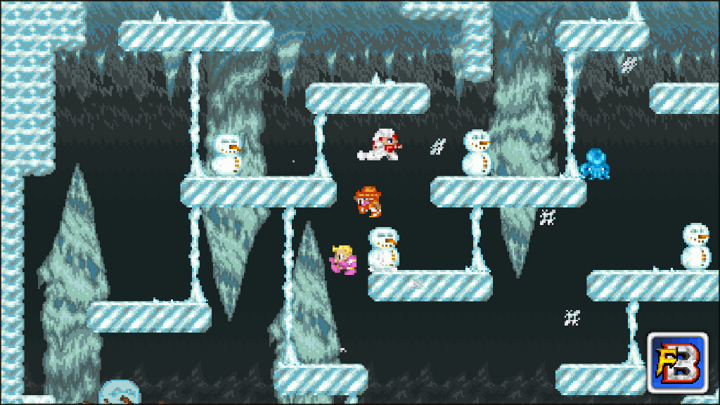 Fantasy Bump screenshot - Color Dash in the Frozen Grotto