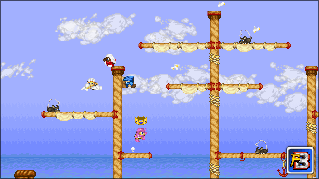 Fantasy Bump screenshot - Bump Match on the Skyboat